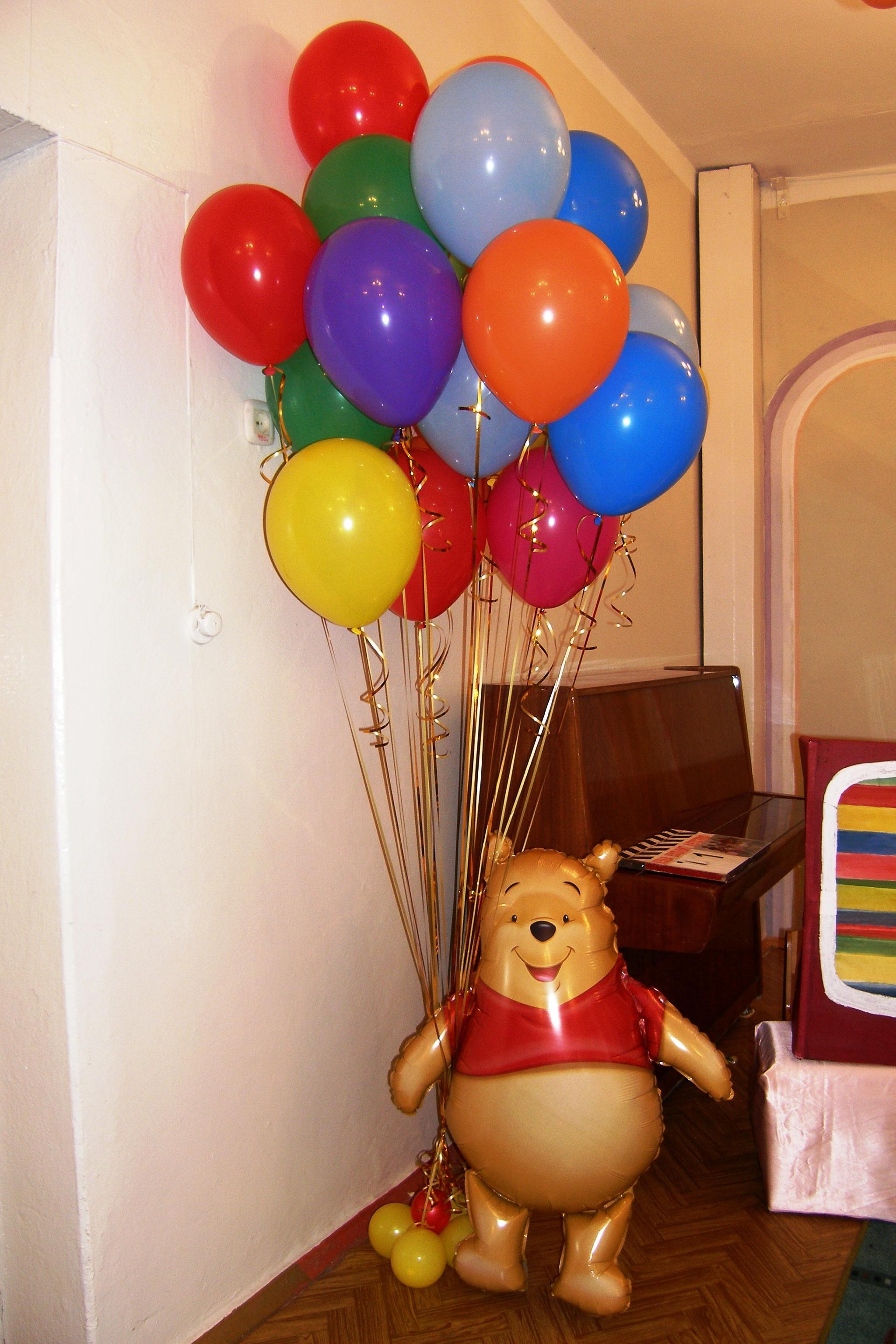 Украшение воздушными шарами день рождения своими руками фото 504